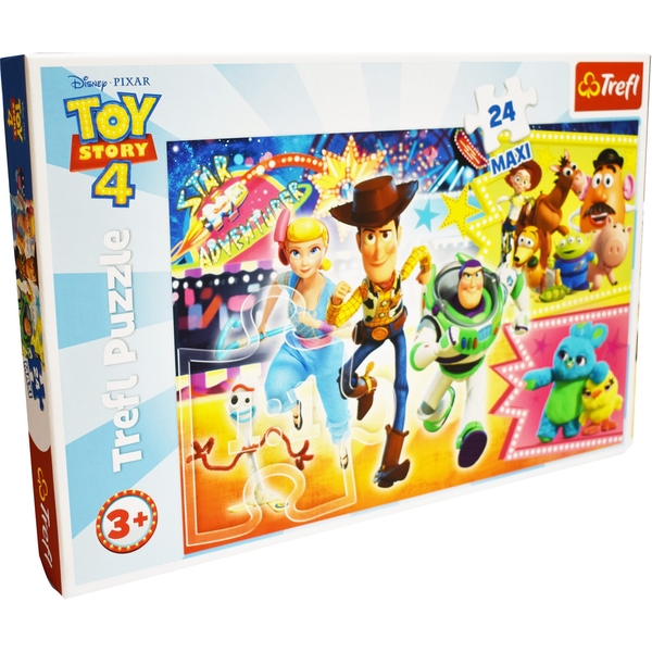 Toy Story 4 Jigsaw Puzzle - 24 Pieces
