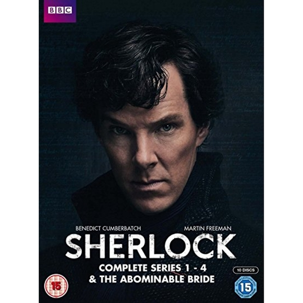 Sherlock - Series 1-4 & Abominable Bride Collection DVD