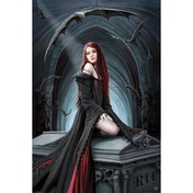 Anne Stokes Await The Night Maxi Poster