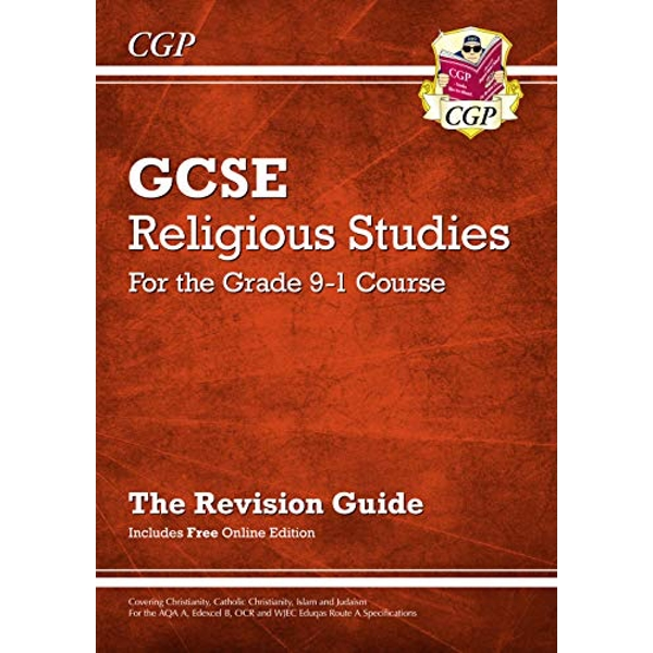 Grade 9-1 GCSE Religious Studies: Revision Guide with Online Edition  Paperback / softback 2017