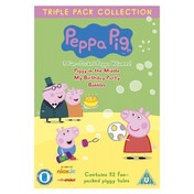 Peppa Pig Triple (Piggy In The Middle, My Birthday Party, Bubbles) DVD