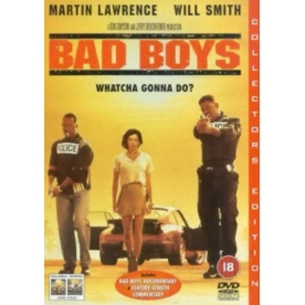 Bad Boys DVD