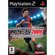 Ex-Display Pro Evolution Soccer 2009 Game PS2 Used - Like New