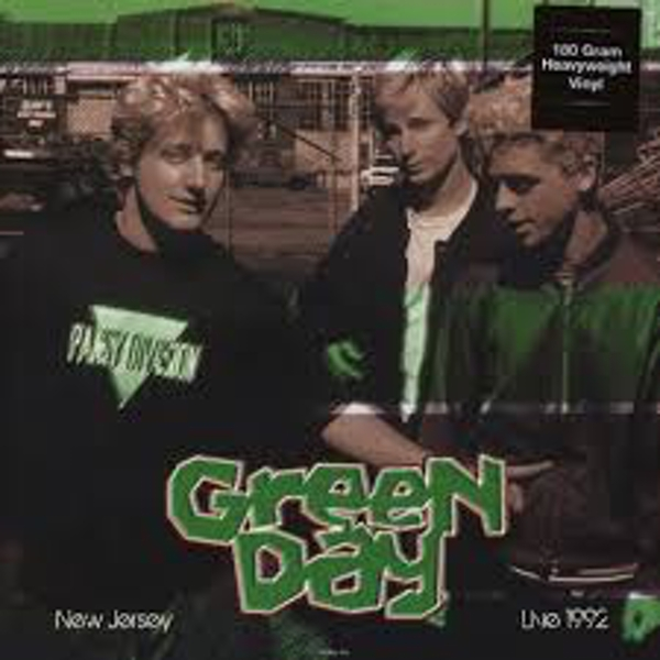 Green Day ‎– Live In New Jersey 1992 Vinyl