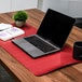 Large Desk Mat | M&W Black/Red - Image 4