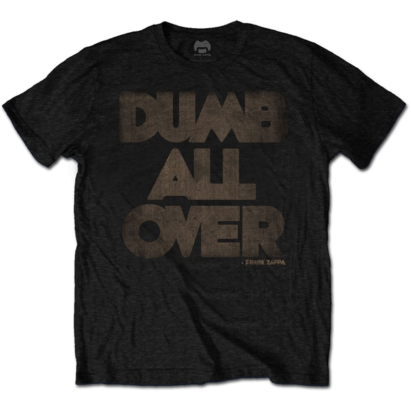 Frank Zappa - Dumb All Over Unisex XXX-Large T-Shirt - Black