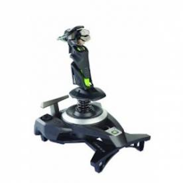 Cyborg F.L.Y.9 Fly 9 Wireless Flight Stick Controller Xbox 360