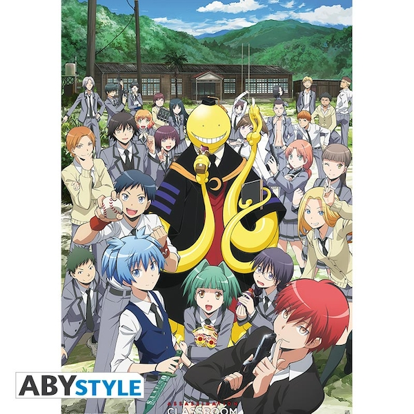 Assassination Classroom -  Group  Maxi Poster