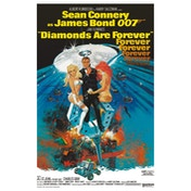 James Bond - Diamonds are Forever Postcard