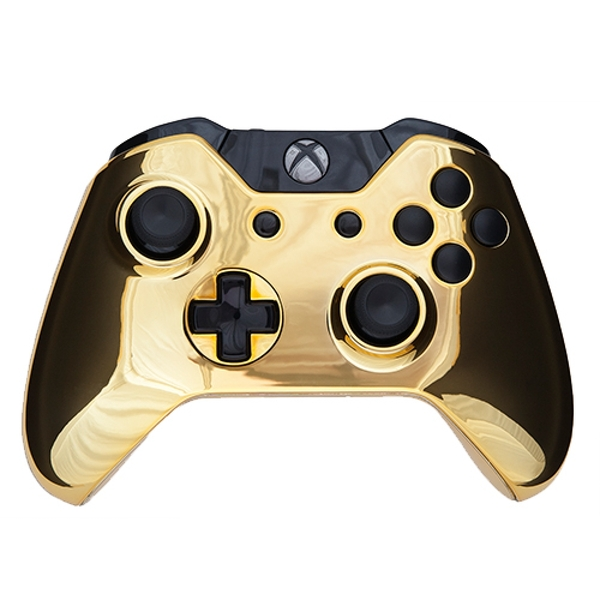 Gold & Black Edition Xbox One Controller - 365games.co.uk Xbox 360 Controller Designs Gold