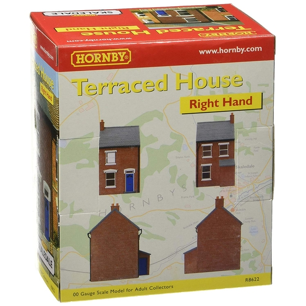 Hornby Right Hand Mid Terraced House Model