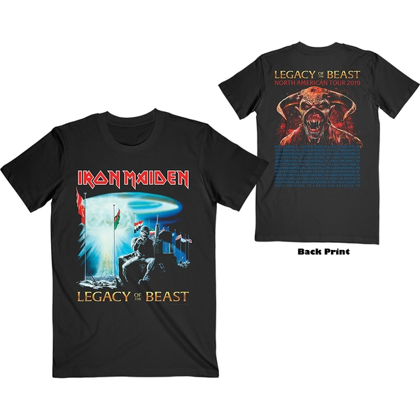 Iron Maiden - Two Minutes to Midnight Unisex XX-Large T-Shirt - Black