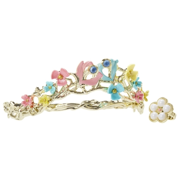 Disney Cinderella Ella's Wedding celebration Tiara and Ring