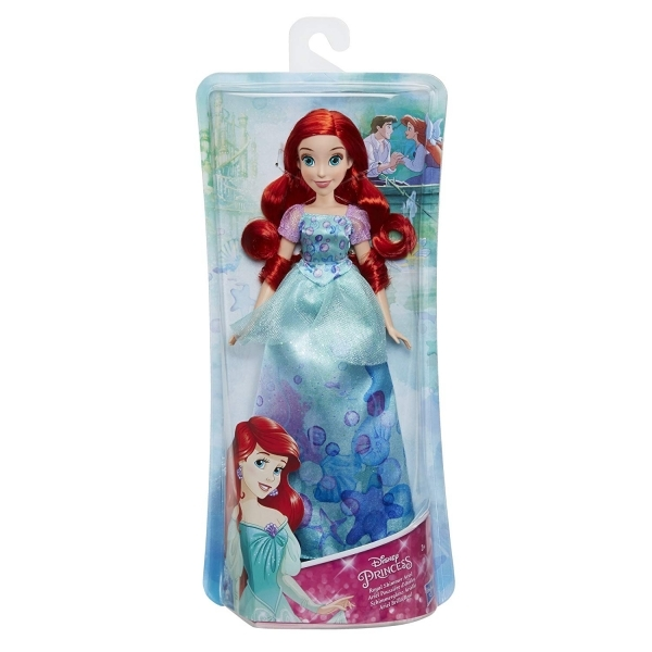 Ex-Display Disney Princess Royal Shimmer Ariel Doll Used - Like New
