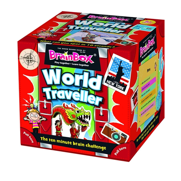 BrainBox World Traveller Card Game