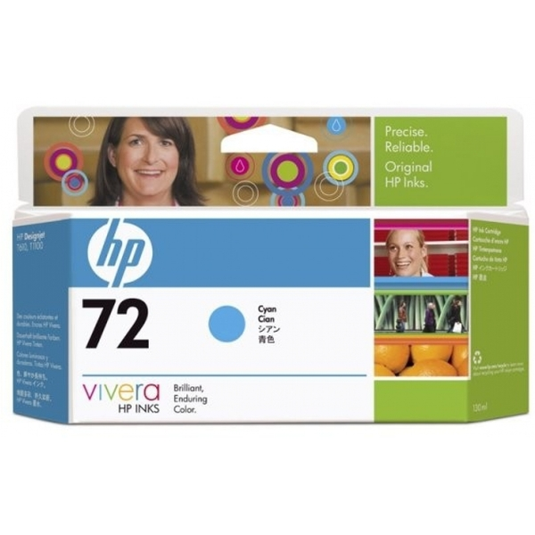 HP C9371A (72) Ink cartridge cyan, 130ml - Image 2