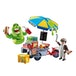 Playmobil Ghostbusters Hot Dog Stand with Slimer - Image 2