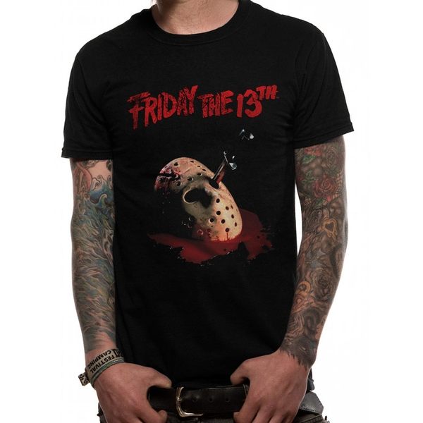 Friday 13th - Dagger Men's Large T-Shirt - Black