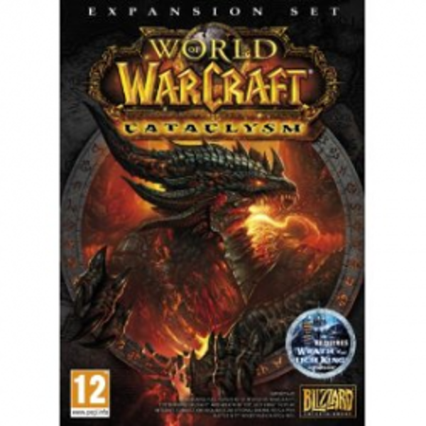 World Of WarCraft Cataclysm Expansion Pack Game PC