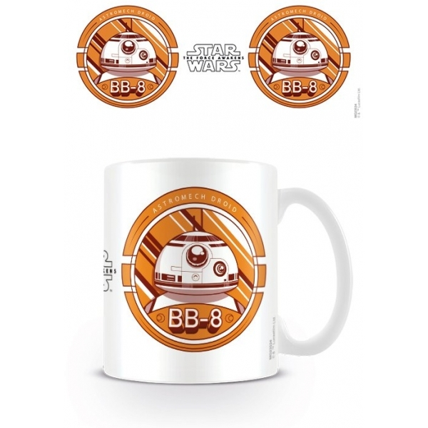 Star Wars Ep 7 BB8 Mug