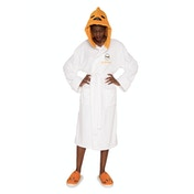 Gudetama Egg head Ladies Fleece Bathrobe