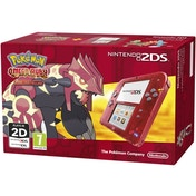 Nintendo 2DS Handheld Console Red with Pokemon Omega Ruby