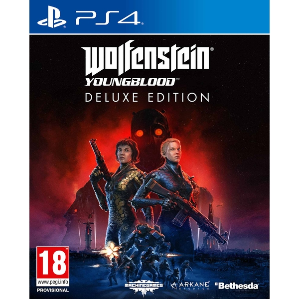 Wolfenstein Youngblood Deluxe Edition PS4 Game - Image 1