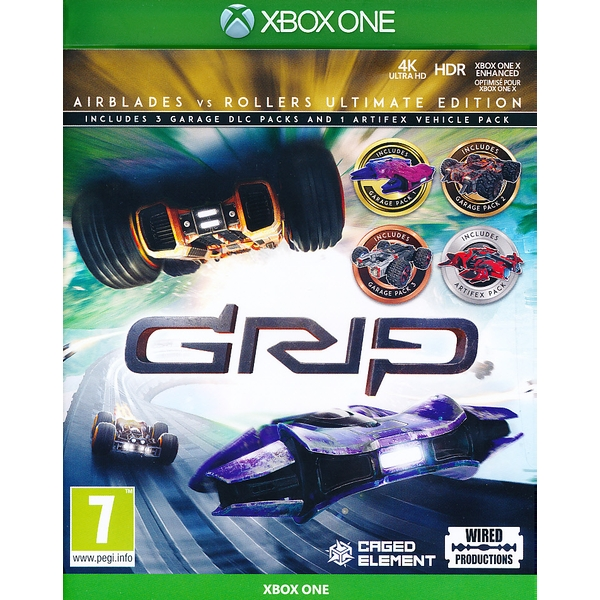 Grip Racing Rollers vs Airblade Ultimate Edition Xbox One Game