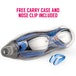 Proworks Anti-Fog Mirrored UV Protection Swimming-Goggles (Blue) - Image 2