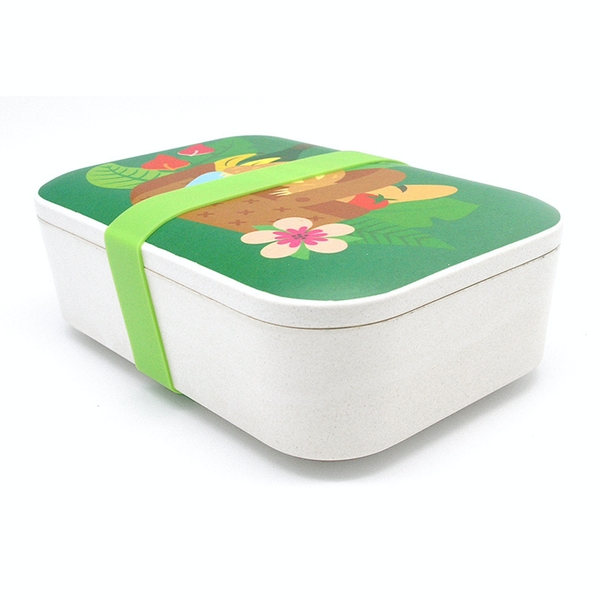 Bamboo Composite Sloth Reusable Lunch Box