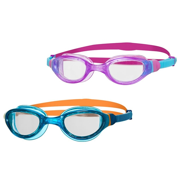 Zoggs Phantom 2.0 Junior Goggles Purple/Blue/Clear