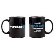 Payday 2 I'm Planning A Heist Ceramic Black Mug