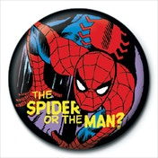 Marvel Retro - Spider or Man Badge
