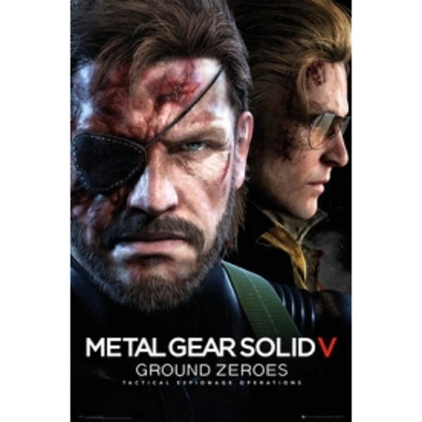 Metal Gear Solid Game Cover Maxi Poster