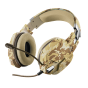 GXT 322D Carus Gaming Headset Desert Camo Multi-Platform