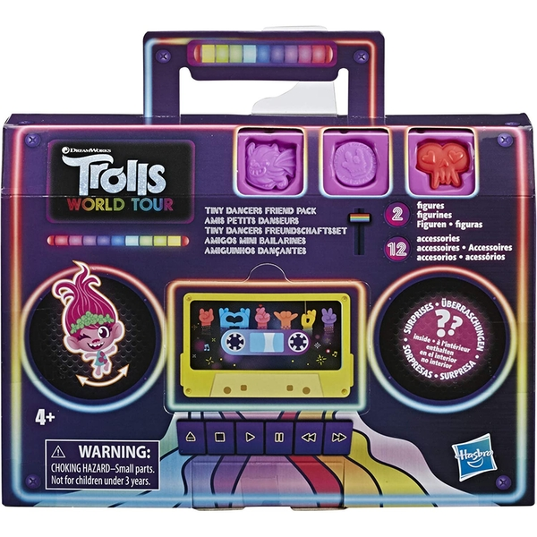Trolls Tiny Dancers Friend Pack (1 At Random)