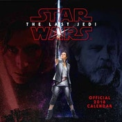 Star Wars Episode 8 The Last Jedi Official 2018 Calendar Square Wall Format