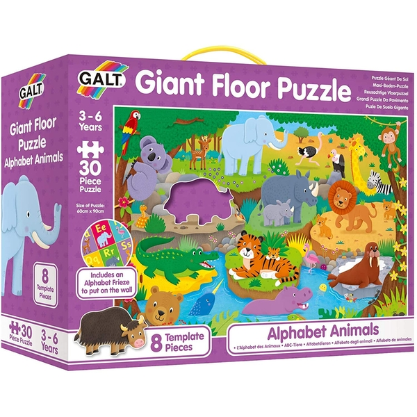 Alphabet Animals Giant Floor Puzzle