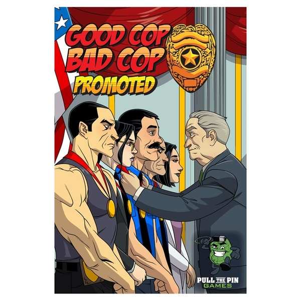 Promoted: Good Cop Bad Cop Expansion Board Game