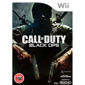 Call of Duty 7 Black Ops Game Wii