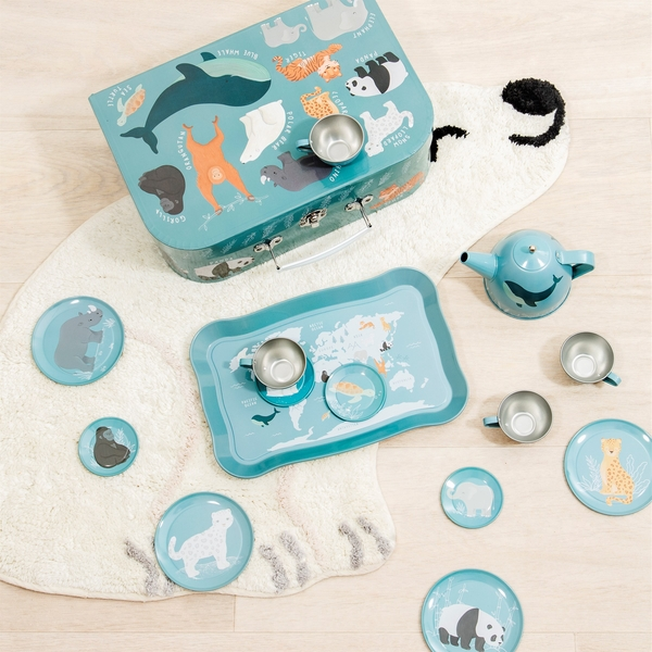 Sass & Belle Endangered Animals Kids' Tea Set
