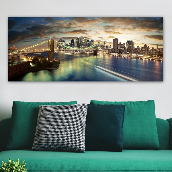YTY73371145_50120 Multicolor Decorative Canvas Painting