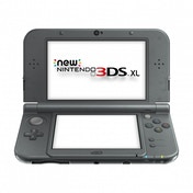 New Nintendo 3DS XL Handheld Console Metallic Black