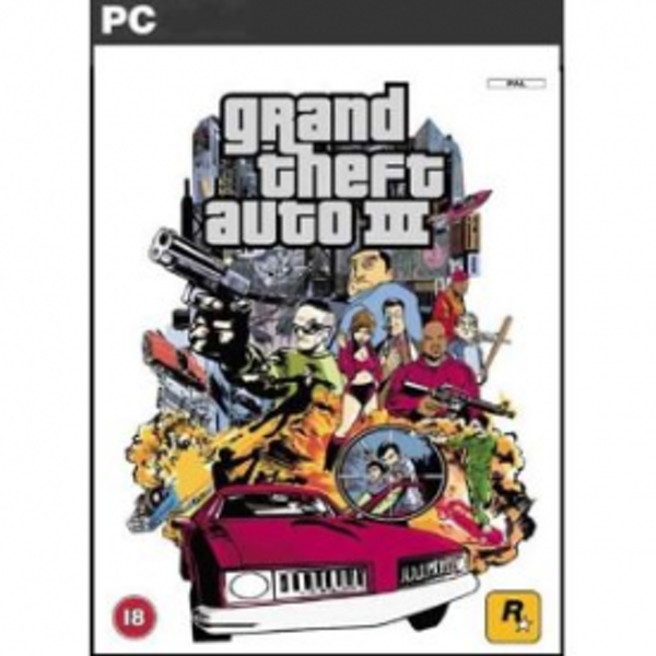 Grand Theft Auto GTA III 3 Game PC