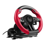 Speedlink - Trailblazer Vibration Effect Racing Wheel with Pedals for PS4/PS3/PC (Black/Red)