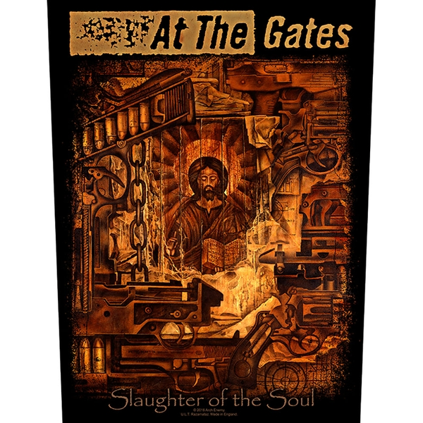 At The Gates - Slaughter of the Soul Back Patch