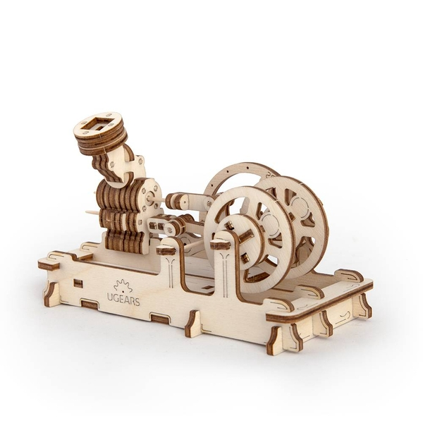 Pneumatic Engine UGears 3D Wooden Model Kit