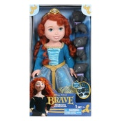 Disney Princess Brave Merida Toddler Doll with Bear Brothers