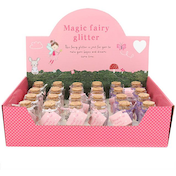 Box of 24 Fairy Glitter With Scroll