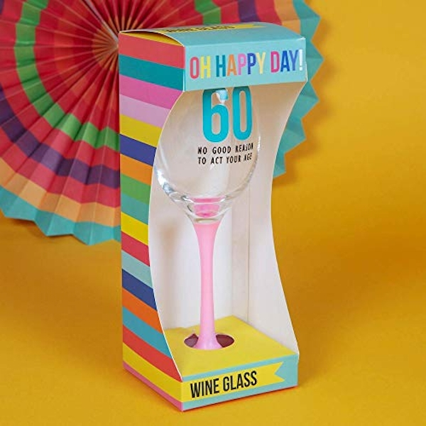 Oh Happy Day! Wine Glass - 60